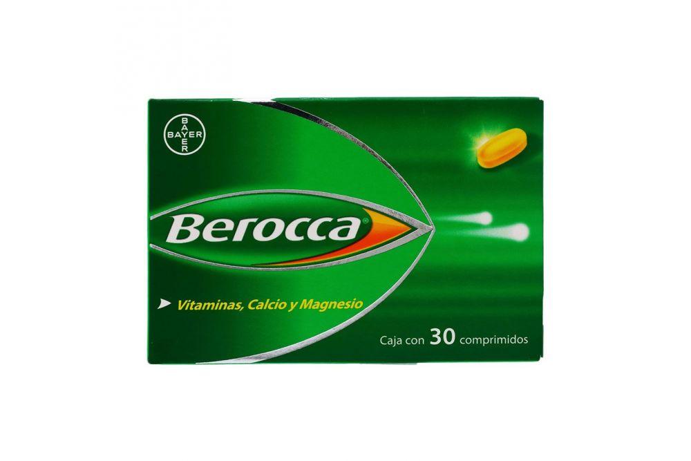 Comprar Berocca Caja 30 Tabletas