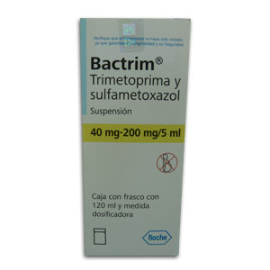 Bactrim 200 Mg 1 Frasco Jarabe 120 Ml