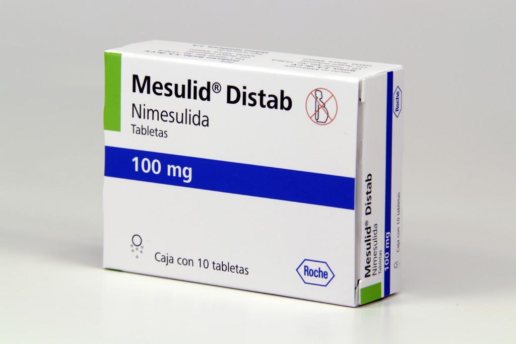 Comprar Mesulid Disp 100 Mg Caja 10 Tabletas