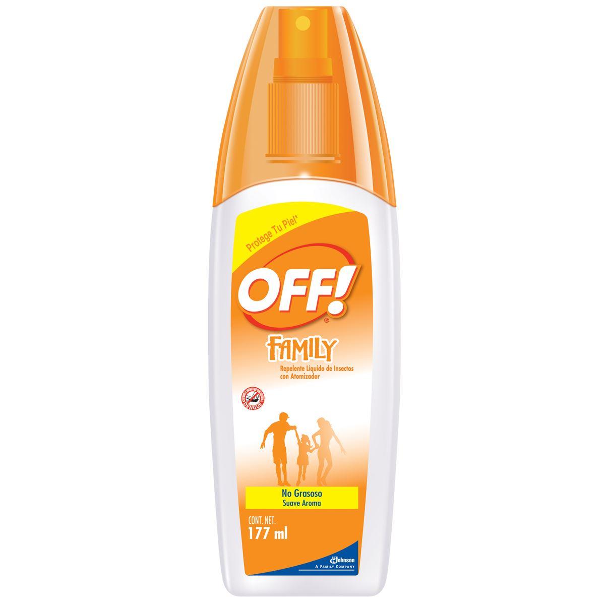 Comprar Off Repel 1 Frasco Spray 177 Ml