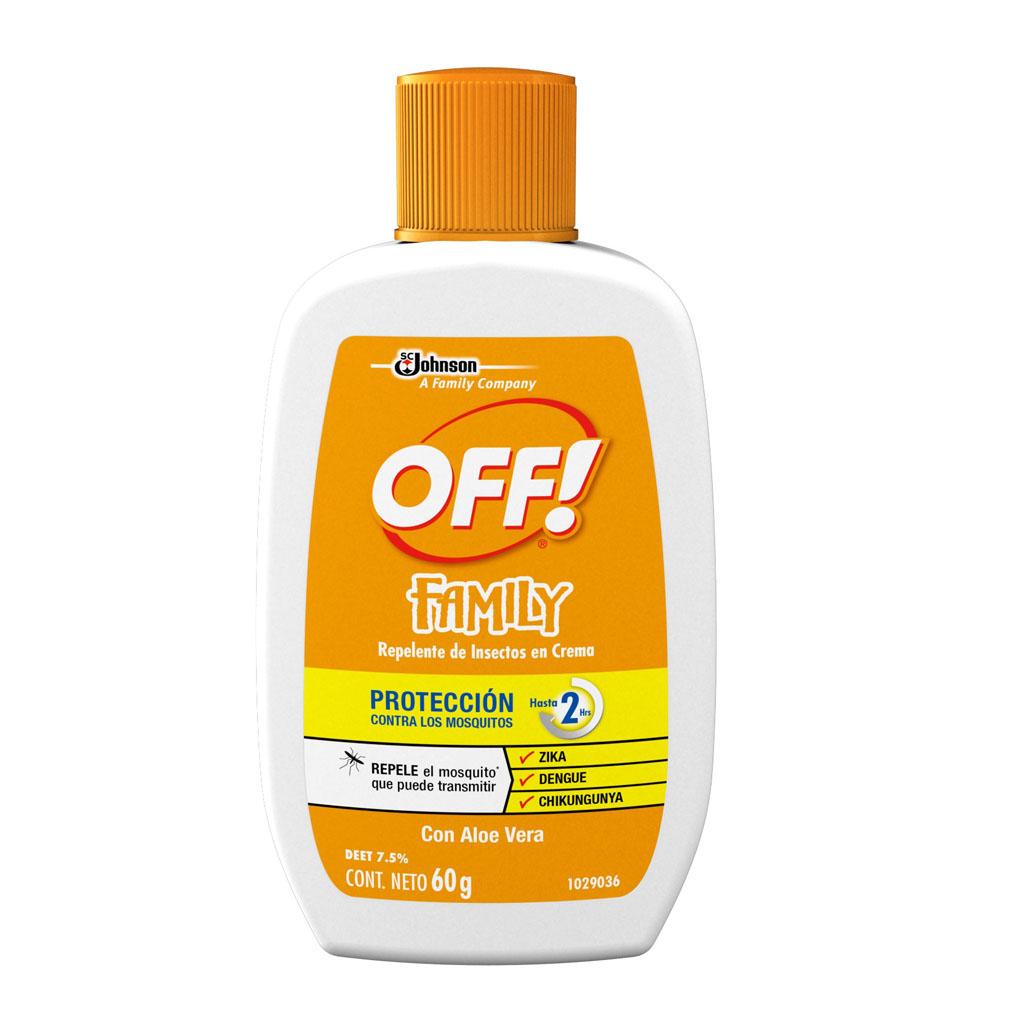 Comprar Off Family Repelente 1 Frasco Crema 90 Gr