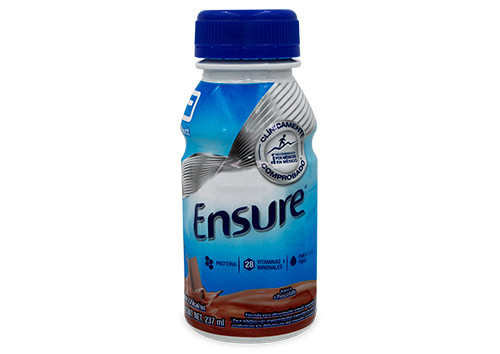 ENSURE CHOCOLATE 1 FRASCO 237 ML