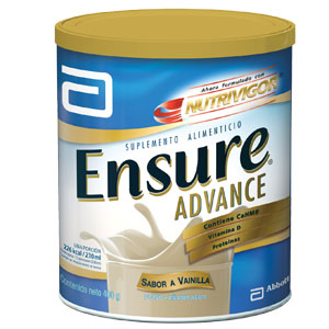 Ensure Advance Hmb Vainilla 1 Lata Polvo 400 Gr