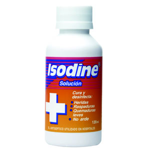 Comprar Isodine 120 Ml 1 Frasco Solucion