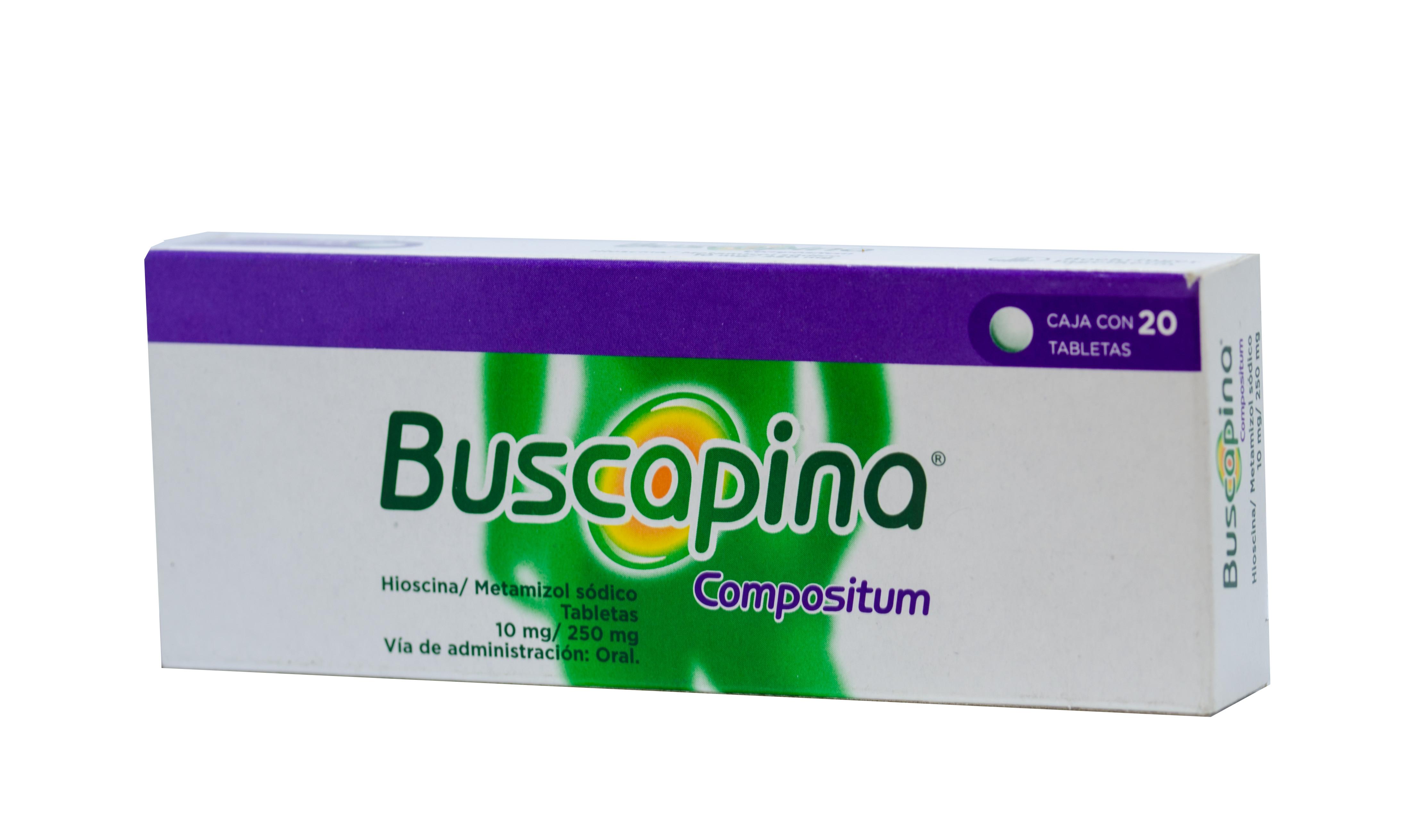 Recubiertos mg 60 buscapina 10 comprimidos