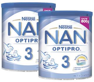 Comprar Nan 3 Optipro 1 Lata Polvo 800 Gr