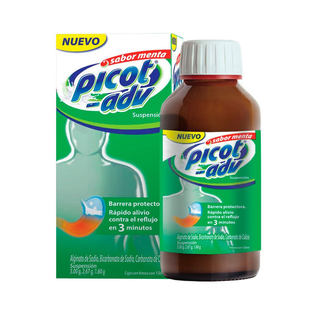 Comprar Picot-Adv Menta 5/2.67/1.6 Ml 1 Frasco Suspension 150 Ml