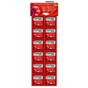 Comprar Contac Ultra Exhibidor 500/5/2 Mg Caja 2 Tabletas