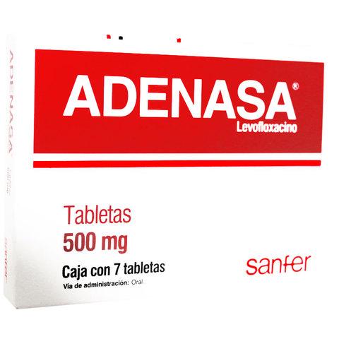 Comprar Adenasa 500 Mg Caja 7 Tabletas