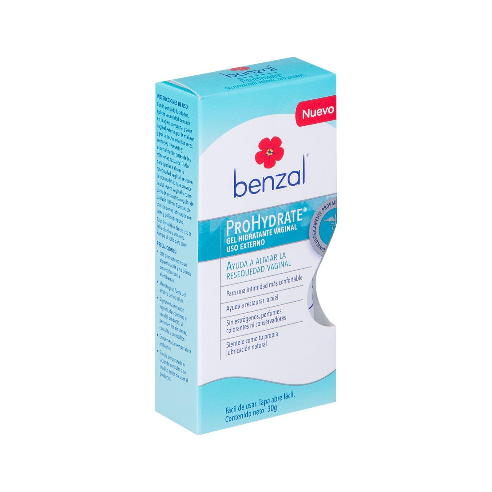 Comprar Benzal Vag Lubric Intimo Prohydrate Tub 1 Tubo Gel 30 Gr