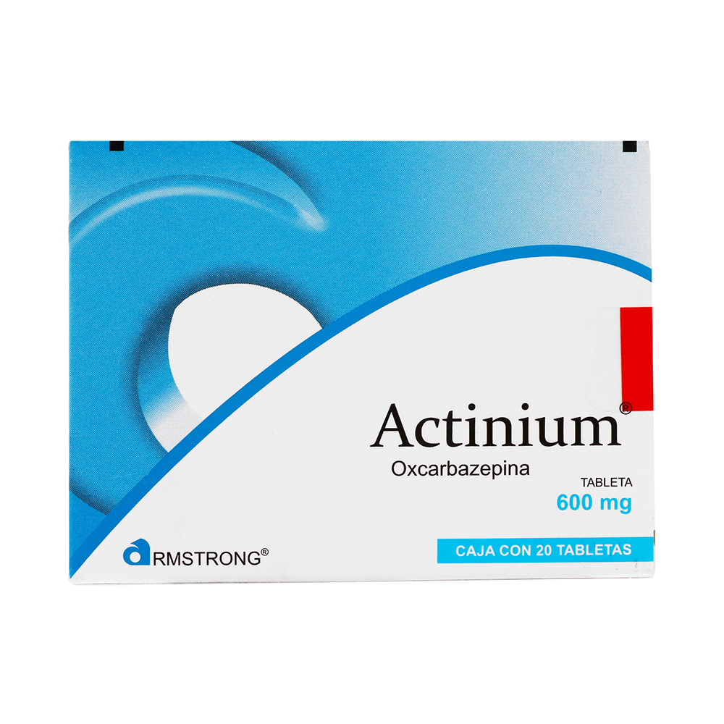 Comprar Actinium 600 Mg Caja 20 Tabletas