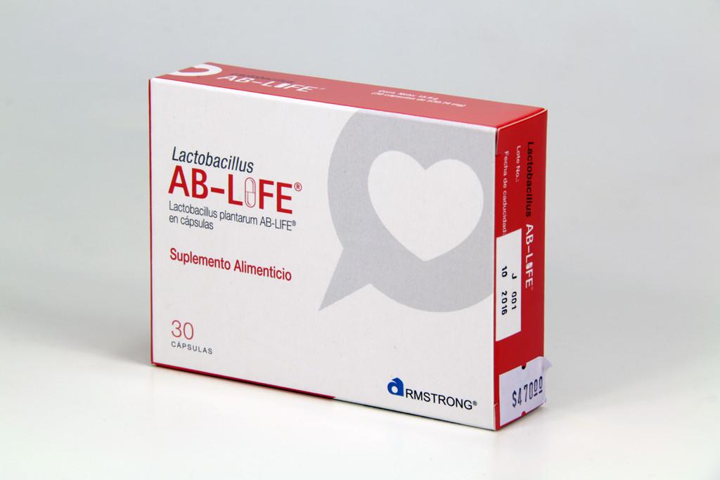 Comprar Ab Life 125.89 Mg Caja 30 Capsulas