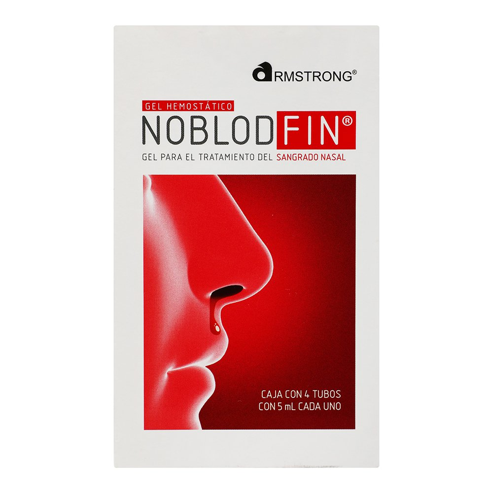 Comprar Noblodfin 4 Sobres 1 Tubo Gel 5 Ml