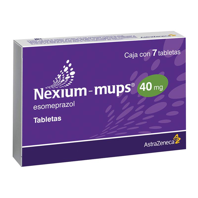 Nexium-Mups 40 Mg Caja 7 Tabletas