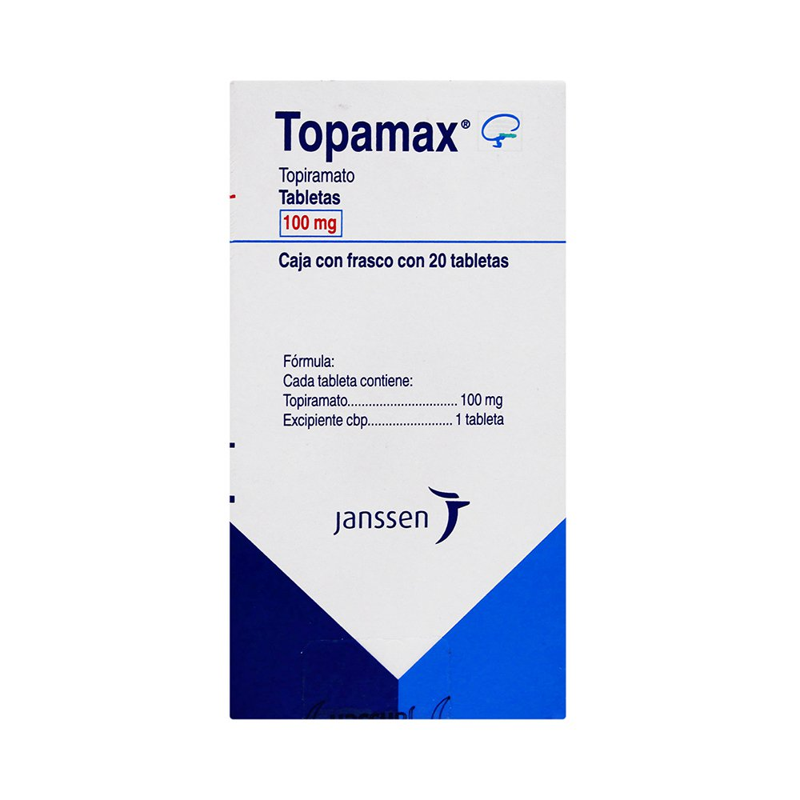 Comprar Topamax 100 Mg Caja 20 Tabletas