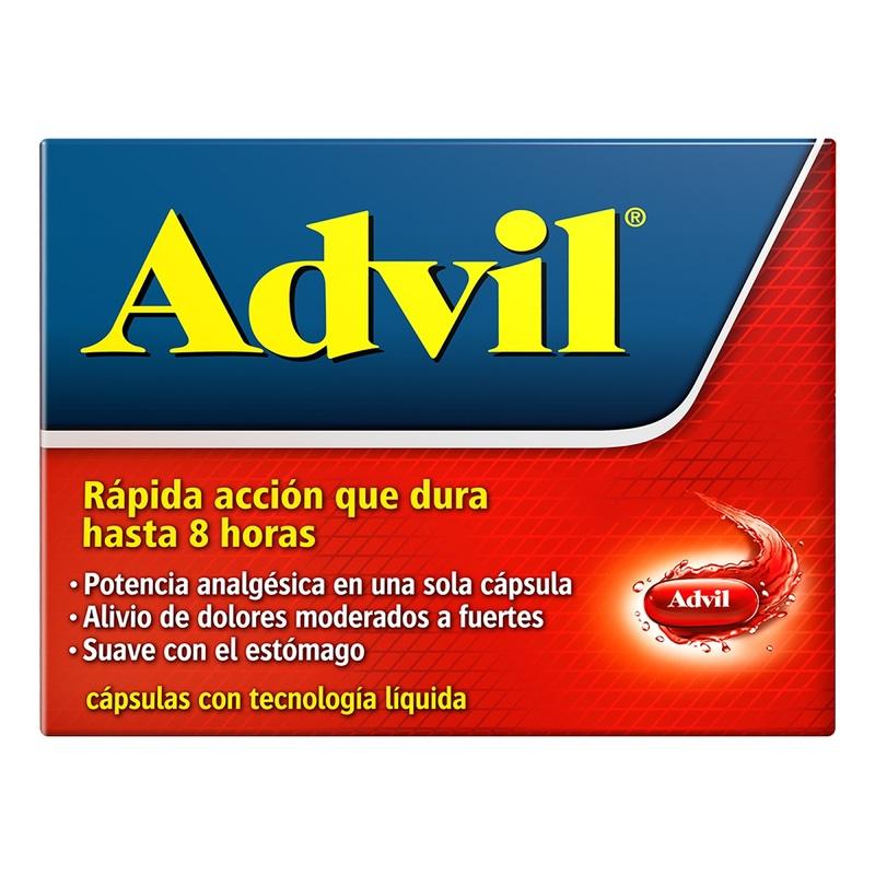 Comprar Advil Max 400 Mg Caja 10 Capsulas