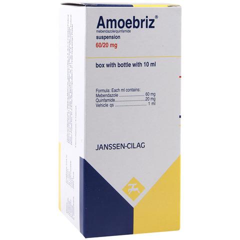 Comprar Amoebriz Infantil 60/20 Mg 1 Frasco Suspension 10 Ml