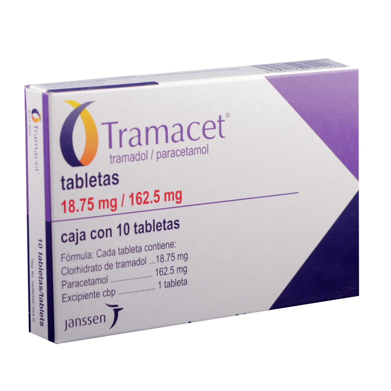 Comprar Tramacet 18.7 Caja 10 Tabletas