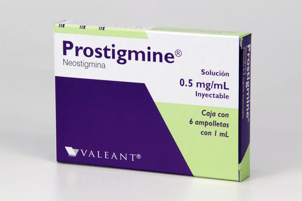 Prostigmine 5 Mg 1 Caja 5 Ampolletas 1 Ml
