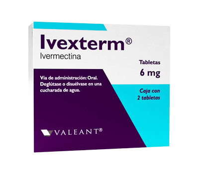 Comprar Ivexterm 6 Mg Caja 2 Tabletas