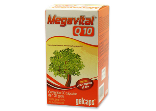 Comprar Megavital Q-10 1 Toma Caja 30 Capsulas