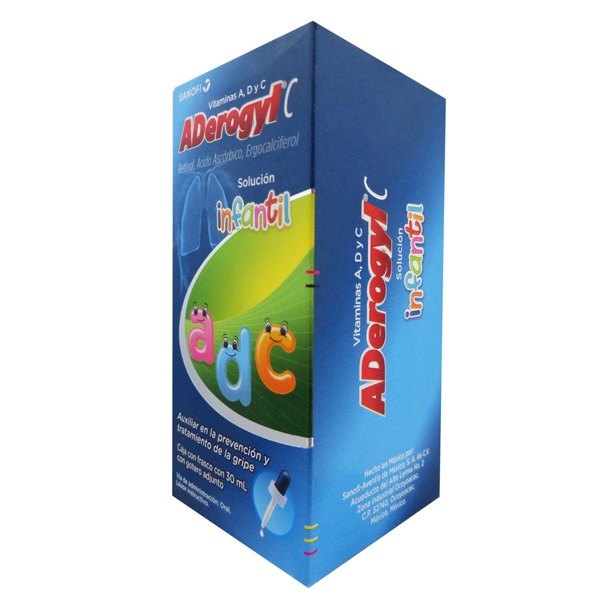Comprar Aderogyl C Infantil 5000 Ui 1 Frasco Gotas 10 Ml