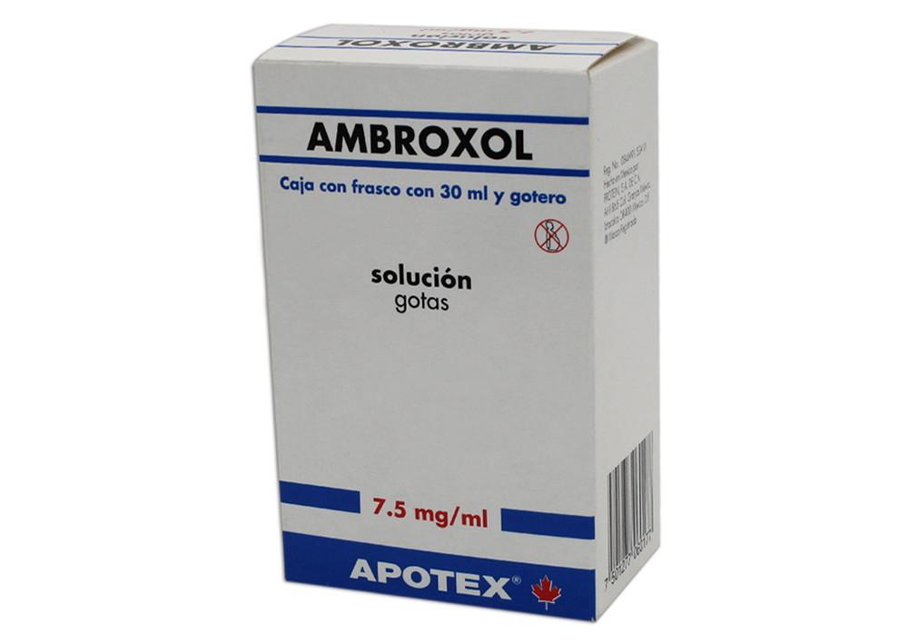 Comprar Ambroxol 7.5 Mg 1 Frasco Gotas 30 Ml