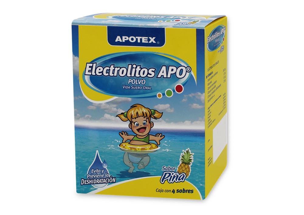 Comprar online ELECTROLITOS PIÑA 4 SOB 20/3.5/2.9/1.5 G