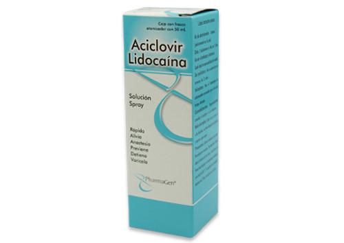 ACICLOVIR LIDOCAINA 1 SPRAY 50 ML