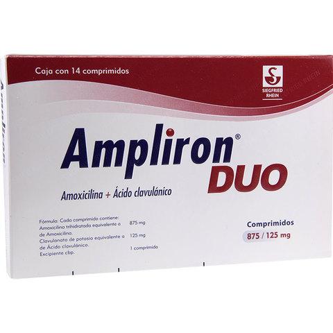 Comprar Ampliron Duo 875 Mg Caja 14 Comprimidos