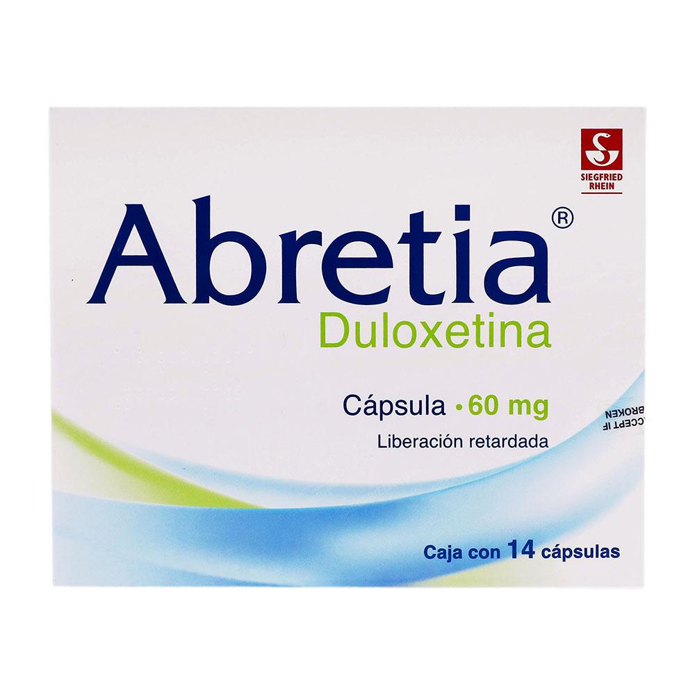 Abretia Liberacion Retardada 60 Mg Caja 14 Capsulas