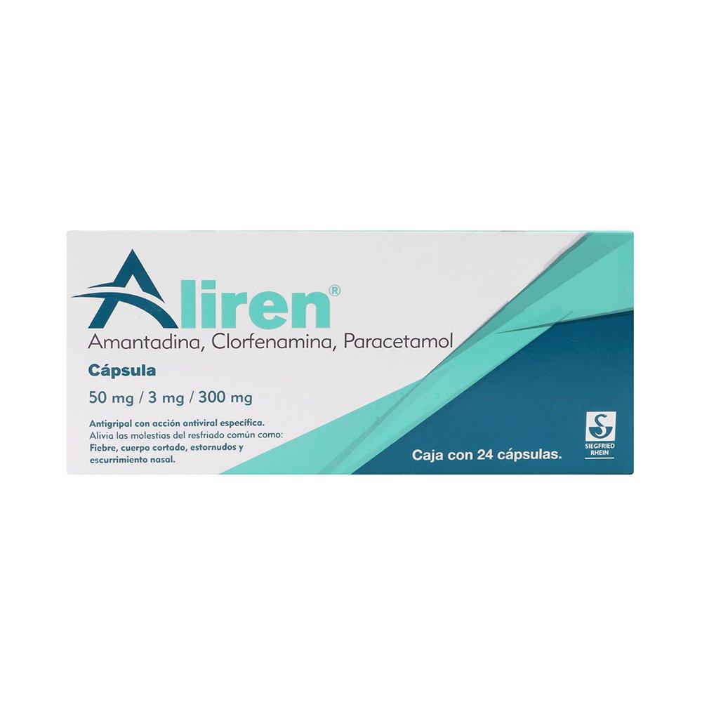 Comprar Aliren 50 Mg 1 Caja 24 Capsulas