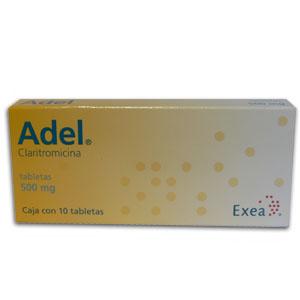 Comprar Adel 500 Mg Caja 10 Tabletas