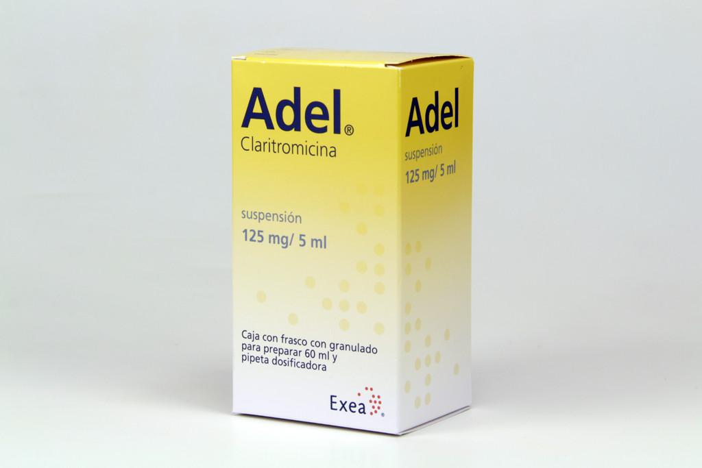 Comprar Adel Granulado 125/5 Mg/Ml 1 Frasco Suspension 60 Ml