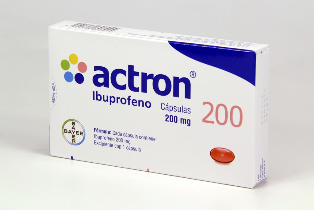 Actron 200 Mg Caja 10 Capsulas