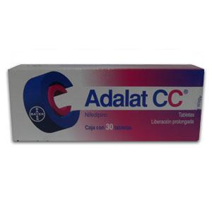 Comprar Adalat Cc 30 Mg Caja 30 Comprimidos