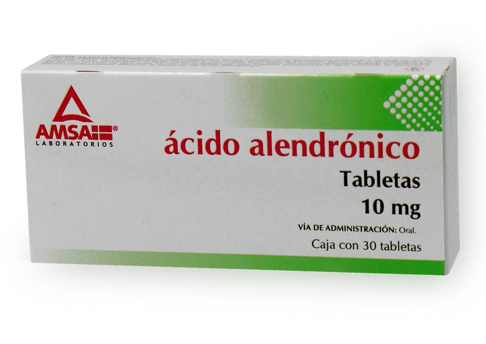 ACIDO ALENDRONICO 30 TAB 10 MG