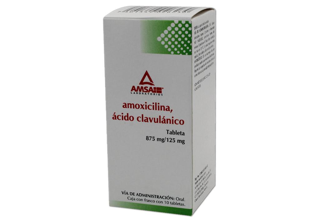 Comprar online AMOXI/AC CLAVUL 10 TAB 875/125 MG