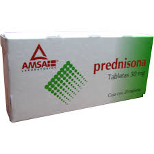 Comprar Prednisona 50 Mg Caja 20 Tabletas