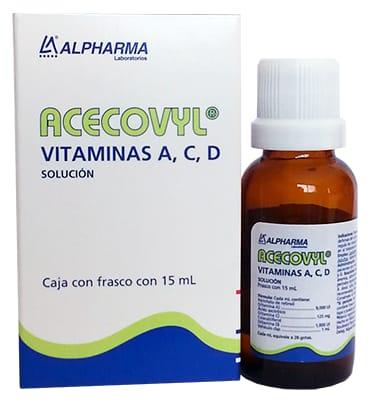 ACECOVYL 1 GOT 90/180 UI 15 ML