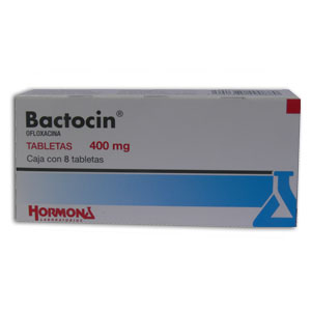Comprar Bactocin 400 Mg Caja 8 Tabletas