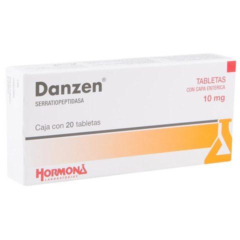 Comprar Danzen 10 Mg Caja 20 Grageas