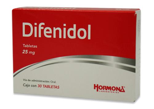 Comprar Difenidol Gi Hormona 25 Mg Caja 30 Tabletas