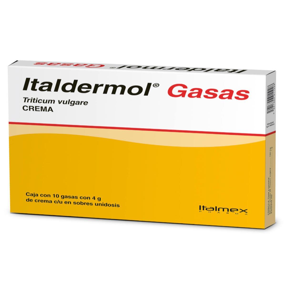 Comprar Italdermol Gasa Cre 40 Gr Caja