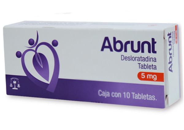 ABRUNT 10 TAB 5 MG