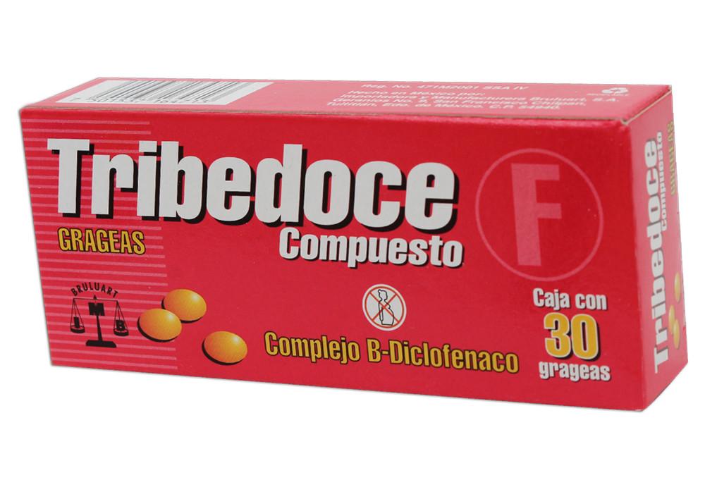 Comprar Tribedoce Comp Caja 30 Tabletas