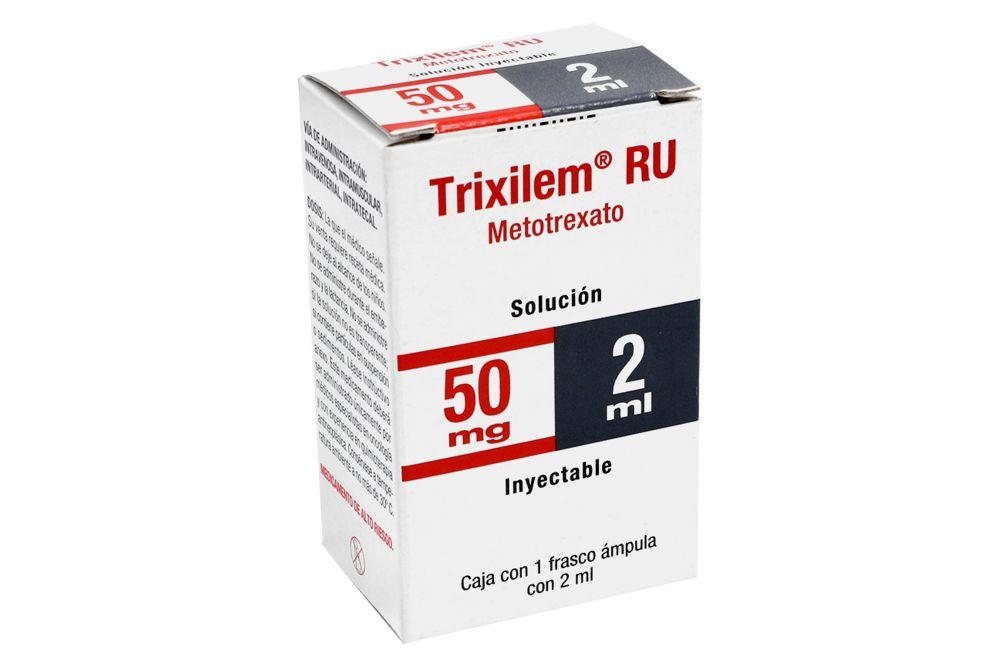 Trixilem Ru 50 Mg 1 Caja 1 Frasco Ampula 2 Ml
