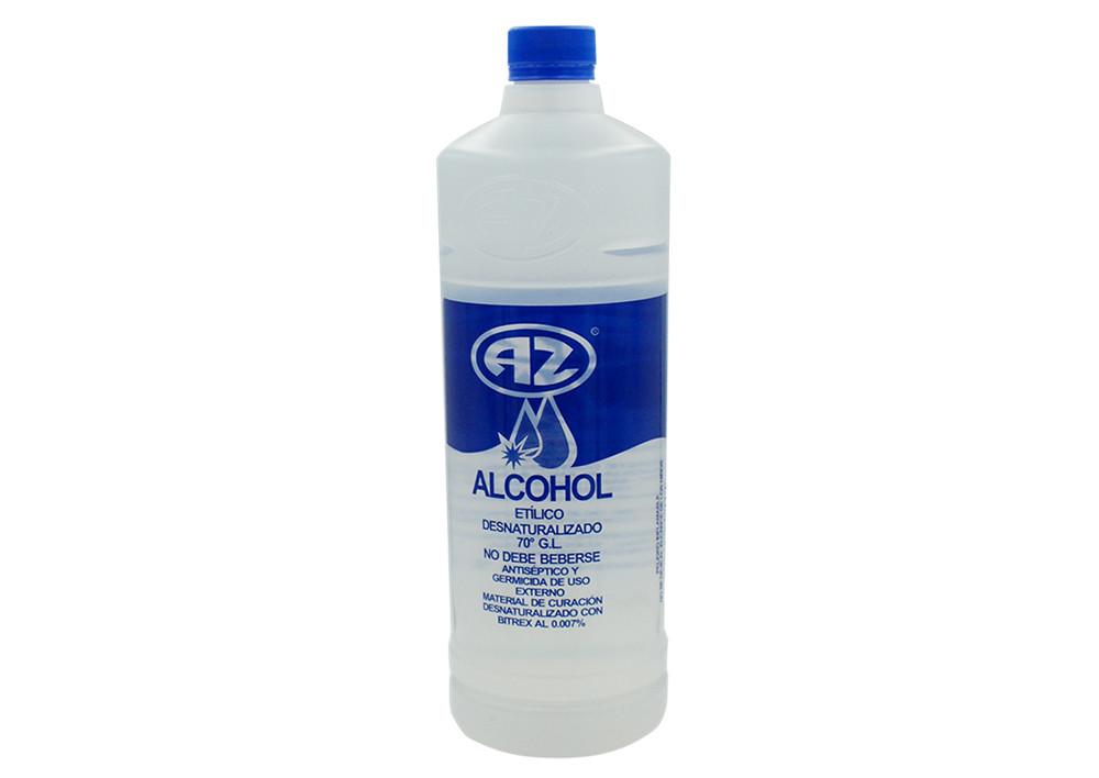 ALCOHOL DESNAT AZ 1 BOTELLA 1000 ML