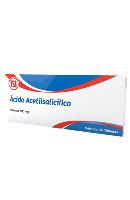 ACID ACETILSALICILICO*AXAL 20 TAB 500 MG
