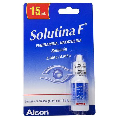 Comprar Solutina F Blist 1 Frasco Solucion 15 Ml
